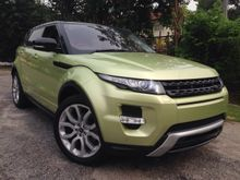 2013 Land Rover Range Rover Evoque 2.0 Si4 SUV FULL DYNAMIC HIGH WAY MODE UNREG