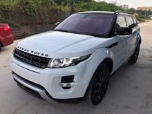 2013 LAND ROVER RANGE ROVER EVOQUE 2.0 SI4 DYNAMIC COBRA RACING BUCKET SEAT DYNAMIC BODYKIT PANORAMIC ROOF FULL SPEC UNREG PROMOTION BIG DISCOUNT