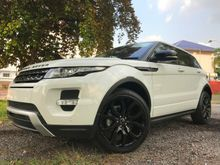 Range Rover Evoque 2.0 Si4 SUV many color units UNREG