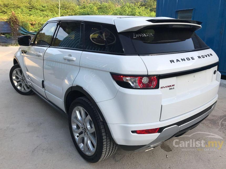 2013 Land Rover Range Rover Evoque Si4 SUV