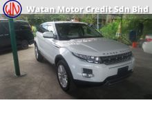 LAND ROVER RANGE ROVER EVOQUE 2.0 FULL SPEC ACTUAL YEAR 2012 MEMORY SEAT, NAPPA LEATHER, SURROUNDING CAMERA,JAPAN UNREG