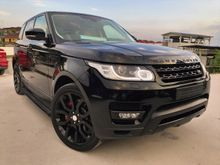 2014 Land Rover Range Rover Sport 5.0 V8 SUPERCHARGER DYNAMIC PETROL BREMBO PROOF REAR TV AUTO SIDE STEP FULL SPEC UNREGISTER INCLUDED GST OFFER PRICE