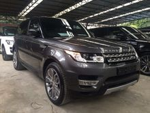 2014 Land Rover Range Rover Sport 3.0 HSE Panoramic Roof Rear Entertainment Meridian Sound System Surround View Camera