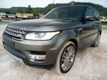 2014 Range Rover Sport 4.4 HSE SUV KING WITH AUTO SIDE STEP ** SURROUND CAMERA ** REAR ENTERTAINMENT ** PANORAMIC ROOF ** MEMORY SEAT **