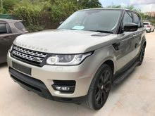 2014 Land Rover Range Rover Sport 5.0 V8 SUPERCHARGER DYNAMIC PETROL BREMBO PROOF REAR TV AUTO SIDE STEP FULL SPEC UNREG PROMOTION BIG DISCOUNT