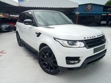 2014 RANGE ROVER SPORT 3.0 SDV6 SUV KING DIESEL ** PANAROMIC SUNROOF ** REAR ENTERTAINMENT ** VACUUM DOOR ** MERIDIAN SOUND SYSTEM ** AUTO SIDE STEP *