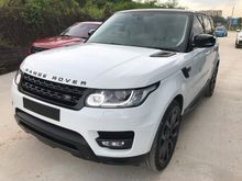 2014 LAND ROVER RANGE ROVER SPORT 3.0 SDV6 DIESEL DYNAMIC PLUS PANORAMIC ROOF REAR TV FULL SPEC UNREG PROMOTION BIG DISCOUNT