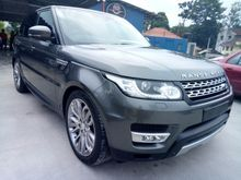 2014 Range Rover Sport 4.4 SUV KING WITH AUTO SIDE STEP ** SURROUND CAMERA ** REAR ENTERTAINMENT ** PANORAMIC ROOF ** MEMORY SEAT **