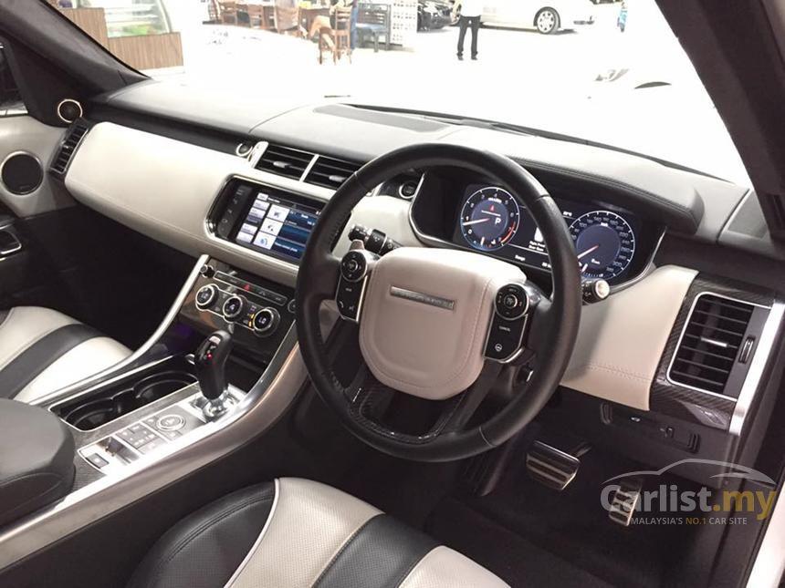 2015 Land Rover Range Rover Sport SVR SUV