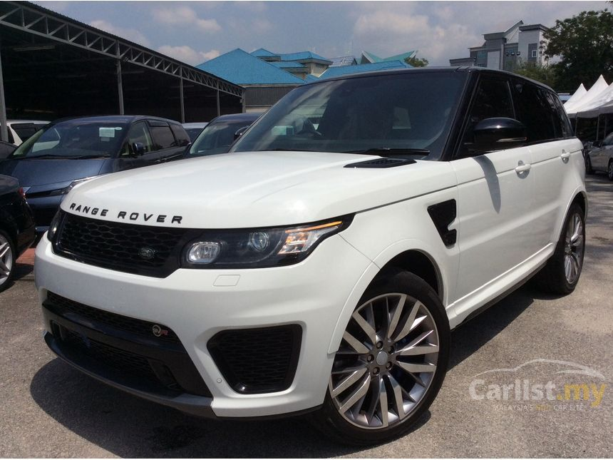 land rover range rover sport 2015 svr 5 0 in kuala lumpur automatic suv white for rm 780 000. Black Bedroom Furniture Sets. Home Design Ideas