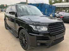 2013 LAND ROVER RANGE ROVER VOGUE 5.0 SUPERCHARGE 4 SEATER BLACK EDITION STARTECH BODYKIT PETROL FULL SPEC UNREG PROMOTION BIG DISCOUNT