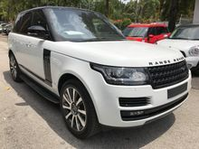 2014 Land Rover Range Rover Vogue SE 5.0 SUPERCHARGER PETROL 5 SEATER PANORAMIC ROOF MERIDAIN FULL SPEC UNREG PROMOTION BIG DISCOUNT