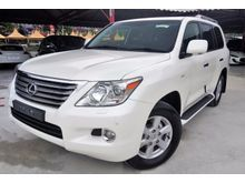 2012 Lexus LX570 5.7 SUV * ROOF MONITOR * COOLER BOX * AIR MATIC * REVERSE CAMERA * SUNROOF * KEYLESS * POWER BOOT * ELECTRIC SEATS WITH MEMORY *UNREG