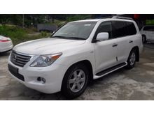 2012 Lexus LX570 5.7 SUV ROAD OF KING # MARK LEVINSON SOUND SYSTEM # SUNROOF # AIR MATIC SUSPENSION # COOLED BOX # KEYLESS # PADDLE SHIFT