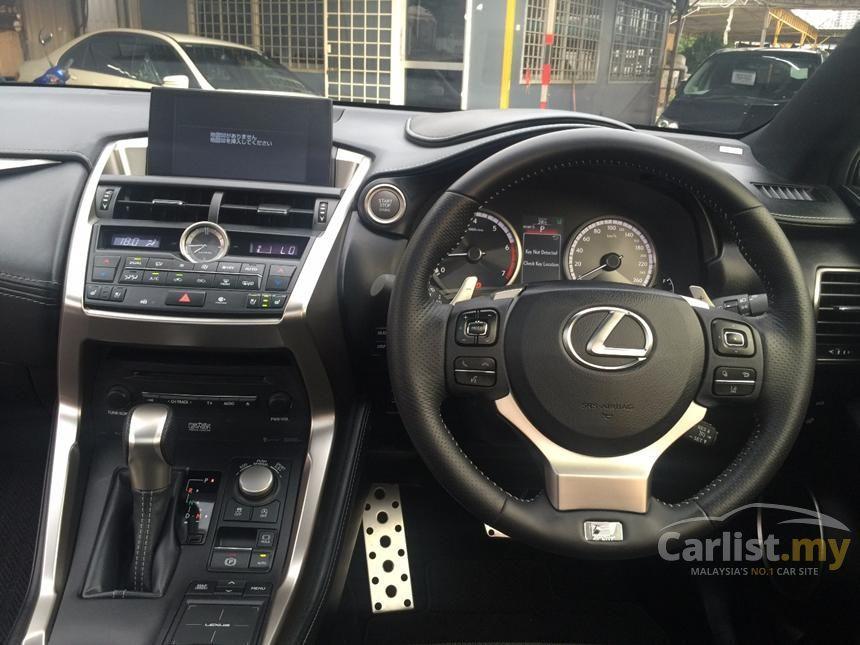 2015 Lexus NX200t F Sport SUV