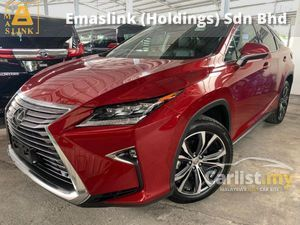 2017 Lexus RX200t 2.0 V-Luxury Unreg 360 Surround Camera 2nd Roll Electric 3LED Sequential Signal HUD BSM PCS Local KL AP Price Negotiable