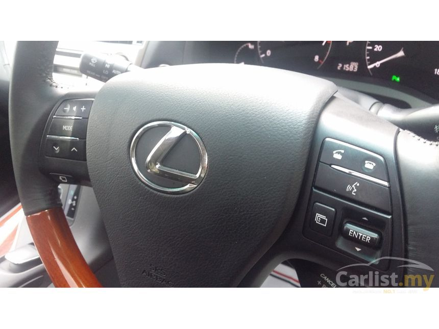 lexus rx 350 indicator lights
