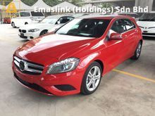 2015 Mercedes-Benz A180 Turbocharged 7G-Tronic DCT Distronic Bucket Seat Daytime LED Xenon Paddle Shift Steering Reverse Camera 1 Year Warranty Unreg