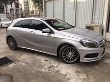 2013 Mercedes-Benz A180 1.6 AMG EXECUTIVE UNREG-GST INCLUSIVE-CBU JAPAN HIGH SPEC-SHOW ROOM CONDITION-MANY UNITS-STOCK CLEARANCE