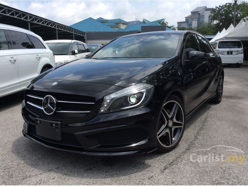 mercedes benz a180 2013 1 6 in kuala lumpur automatic hatchback black for rm 135 000 3792037. Black Bedroom Furniture Sets. Home Design Ideas