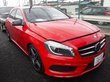 2014 Mercedes-Benz A180 1.6 AMG SPORT RED UNREG
