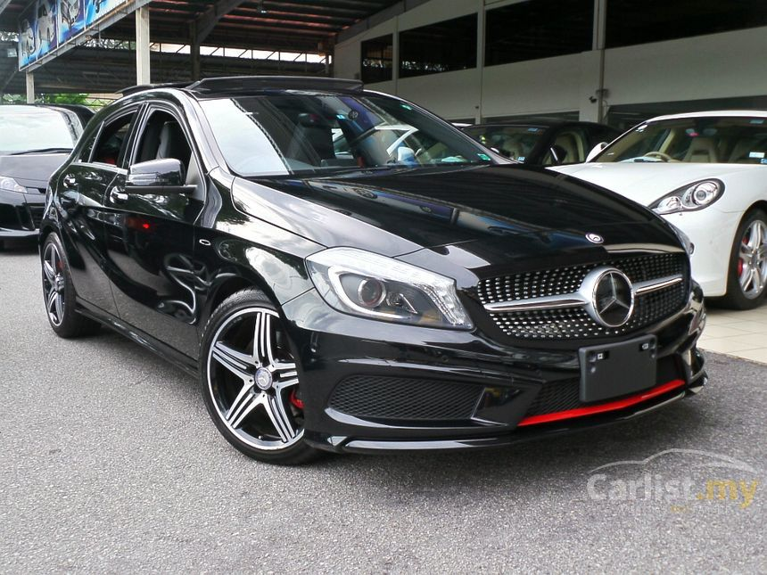 mercedes benz a250 2013 amg 2 0 in kuala lumpur automatic hatchback black for rm 192 000. Black Bedroom Furniture Sets. Home Design Ideas