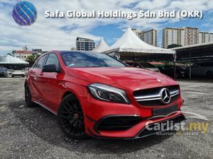 2016 Mercedes-Benz A45 AMG 2.0 MATIC Hatchback RRCARO SEAT/PANAROMIC ROOF/AMG NIGHT PACKAGE UNREG