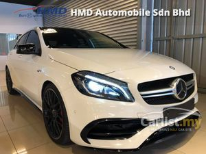 2016 Mercedes-Benz A45 AMG 4MATIC - UNREG - TAX HOLIDAY  -  MERCEDES-BENZ CERTIFIED CARS - PUSH START - HARMON KARDON - PANAROMIC ROOF
