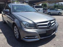 2012 Mercedes-Benz C180 1.8  Coupe SE Unregistered