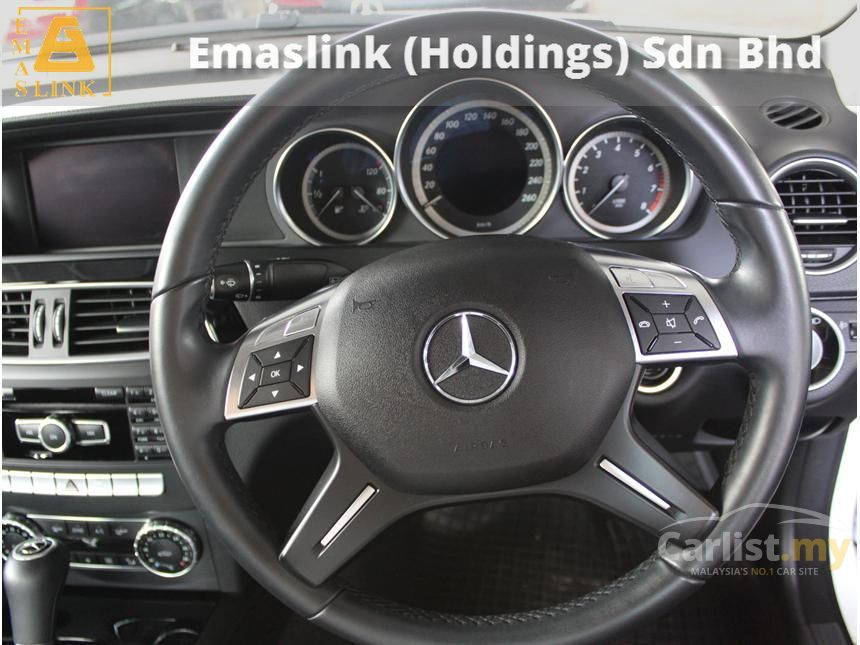 2013 Mercedes-Benz C180 BlueEFFICIENCY Sedan