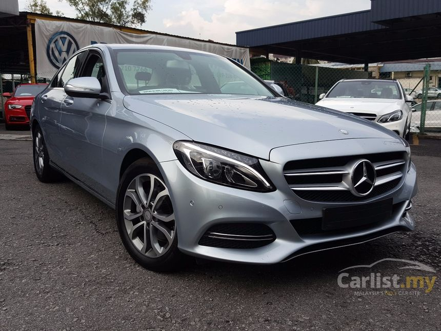 mercedes benz c200 2015 amg 2 0 in kuala lumpur automatic coupe grey for rm 220 000 3535335. Black Bedroom Furniture Sets. Home Design Ideas