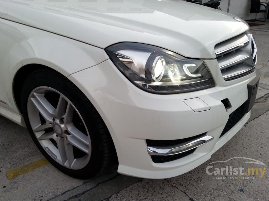 2012 Mercedes-Benz C200 CGI Avantgarde Sedan