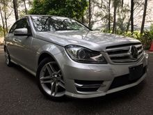 2013YR Mercedes-Benz C200 AMG 1.8  Sedan JAPAN SPEC 3YR WARRANTY UNREG