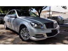 2012 Mercedes-Benz C200 CGI 1.8 Sedan 7G Tronic Keyless Memory Seat Unreg