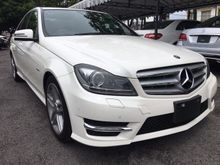 2012 Mercedes-Benz C200 1.8CGI  AMG UNREG