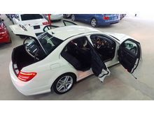 2012 MERCEDES BENZ C200 1.8 AMG SPORT PLUS SELLING PRICE RM 163,000.00 WHILE COLOR ( 7833 )