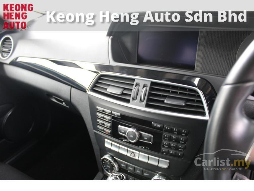 2012 Mercedes-Benz C250 BlueEFFICIENCY Coupe