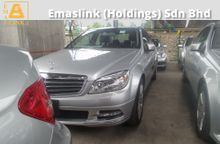 2011 Mercedes-Benz C250 1.8 Avantgarde Japan Spec Unregistered GST INCLUSIVE PRICE