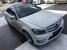 2012 Mercedes-Benz C250 1.8 AMG Coupe Panoramic RooF UNREG