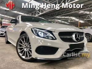 2018 MERCEDES BENZ C300 AMG PREMIUM LINE PLUS COUPE (A) FACELIFT 2.0L