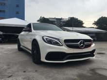 2015 Mercedes-Benz C63s AMG 4.0 503HP EDITION ONE