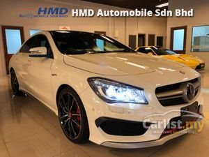 2014 Mercedes-Benz CLA45 AMG 4MATIC - Unreg - TAX HOLIDAY 0% - Japan Mercedes-Benz Certified Cars - Harmon Kardon Sound System