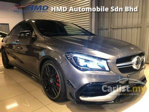 2017 Mercedes-Benz CLA45 AMG 4MATIC - Unreg - TAX HOLIDAY - Japan Mercedes-Benz Certified Cars - Push Start - Harmon Kardon Sound System