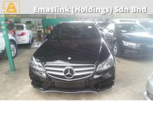 2014 Mercedes-Benz E200 2.0 TURBO W212 AMG SPORT NEW FACELIFT 2014 UNREG