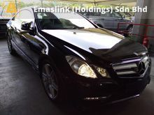 2013 Mercedes-Benz E200 AMG CGI COUPE PANORAMIC ROOF HIGH SPEC UNREGISTERED GST INCLUSIVE PRICE
