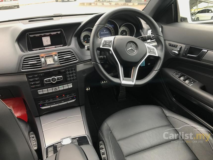 2014 Mercedes-Benz E200 Coupe