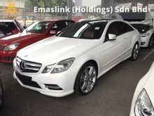2013 Mercedes-Benz E200 E250 AMG Sport 7G-Tronic Panaromic Roof Bucket Seat Keyless Go Entry Xenon LED 1 Year Warranty Unreg
