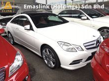 2013 Mercedes-Benz E200 E250 AMG Sport 7G-Tronic Panaromic Roof Bucket Seat Keyless Go Entry Xenon LED Bluetooth Connectivity 1 Year Warranty Unreg