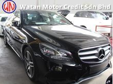 MERCEDES BENZ E250 2.0 AMG,ACTUAL YR 14 HARMAN KARDON,PANORAMIC ROOF,LED Daylight,MEMORY Seat,REVERSE CAM,Leather,Paddle Shift,FREE 1 YEAR WARRANTY
