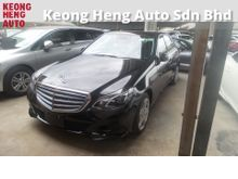 2013 Mercedes-Benz E250 2.0 Avantgarde ( 7-TRONIC)NEW FACELIFT 2 MEMORY SEATS REVERSE CAMERA MULTI FUNCTION STEERING  1 YEAR GMR WARRANTY LOCAL AP